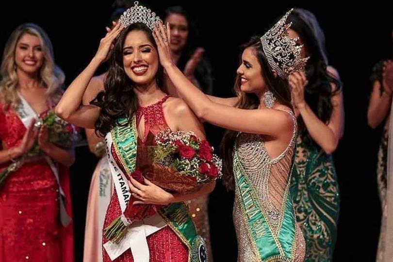 Andresa Alves crowned Miss Brasil Latina 2019