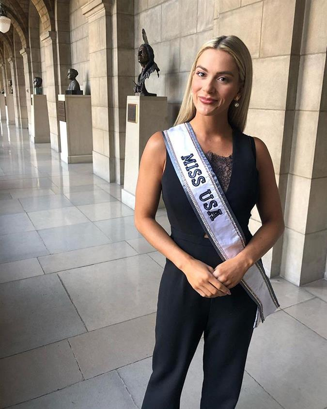 Sarah Rose Summers awarded with Nebraska Admiral, the highest honor of the state
