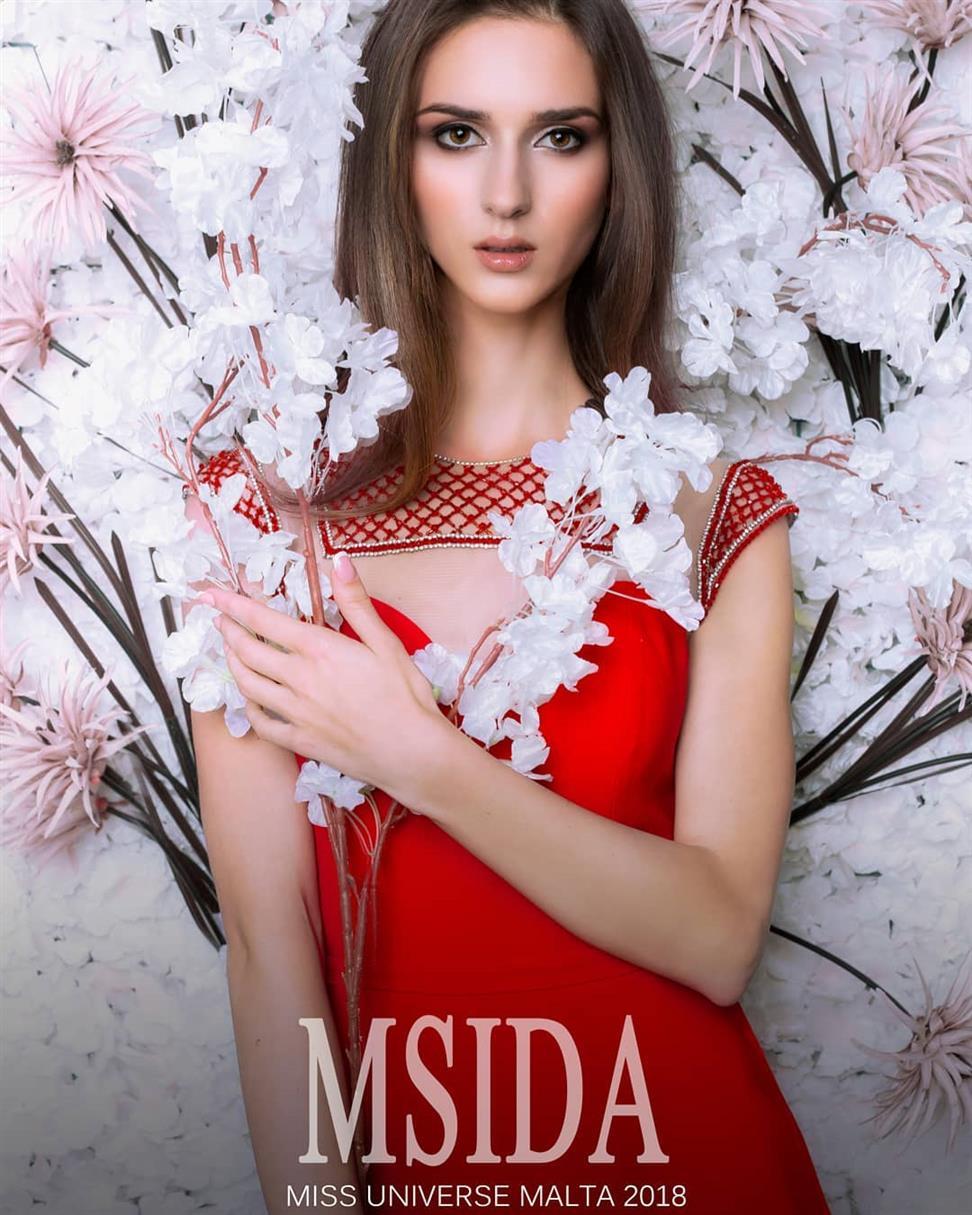 Miss Universe Malta 2018 Contestant Nicole Belenska