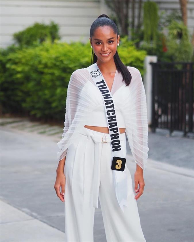 Thanatphon Boonsang emerging as a potential winner of Miss Universe Thailand 2019