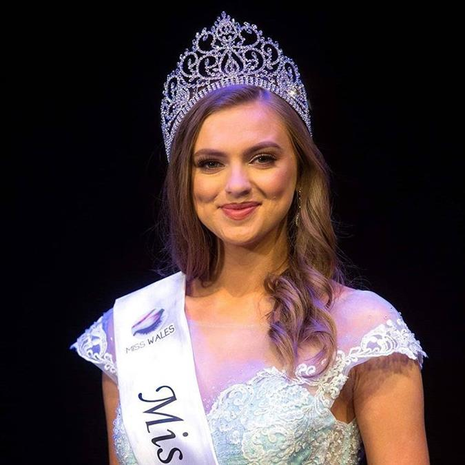 Gabriella Francesca Jukes crowned Miss Wales 2019