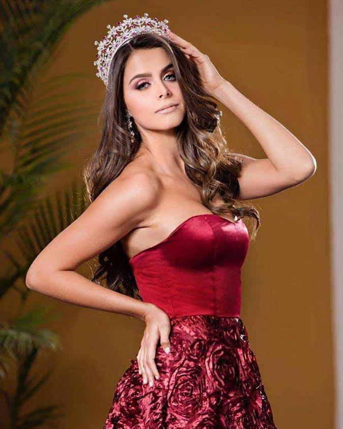 Regina Peredo of Puebla crowned Reina Hispanoamericana Mexico 2019