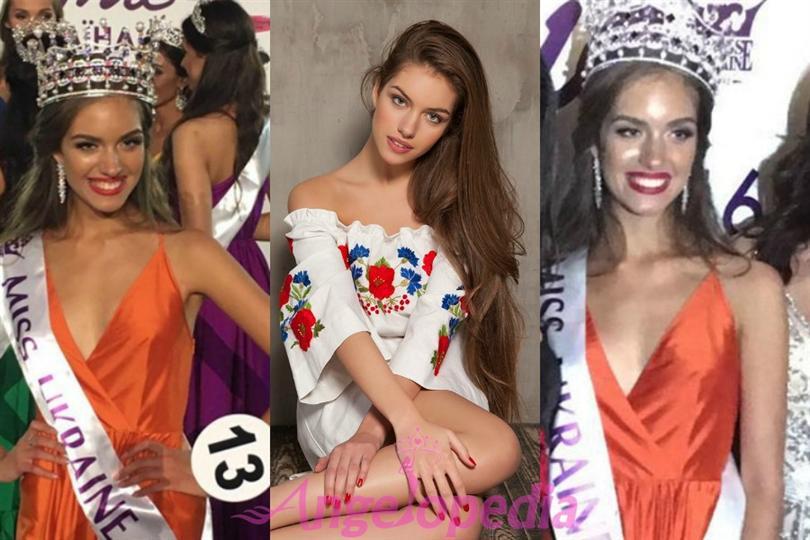 Oleksandra Kucherenko crowned as Miss Ukraine 2016