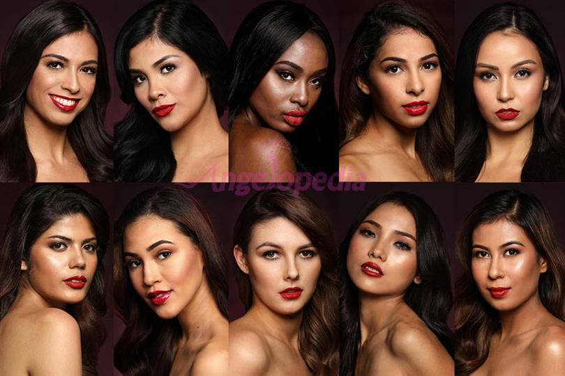 Miss Asia Pacific International 2018 Meet the Contestants