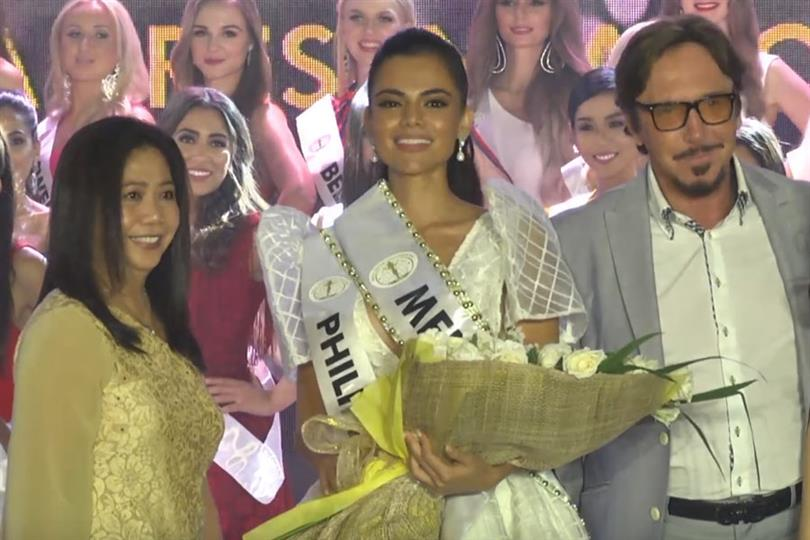 Karen Gallman wins hearts as People's Favourite at the media presentation of Miss Intercontinental 2018