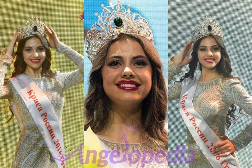 Lada Akimova crowned as Miss Earth Russia 2017