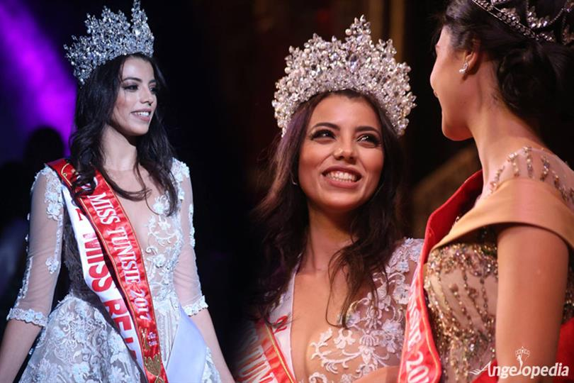 Hayfa Ghedir from Béja crowned Miss Tunisie 2017
