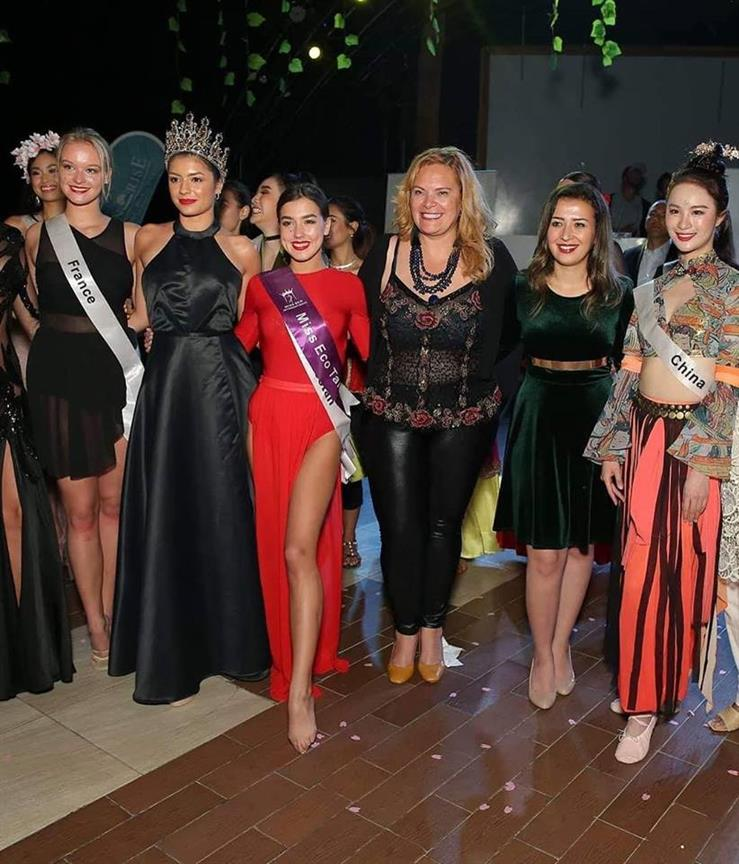 Kristina Tolmacheva of Bashkortostan wins Miss Eco Talent 2019 award