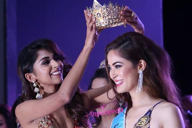 Shrinkhala Khatiwada crowned Miss Nepal 2018