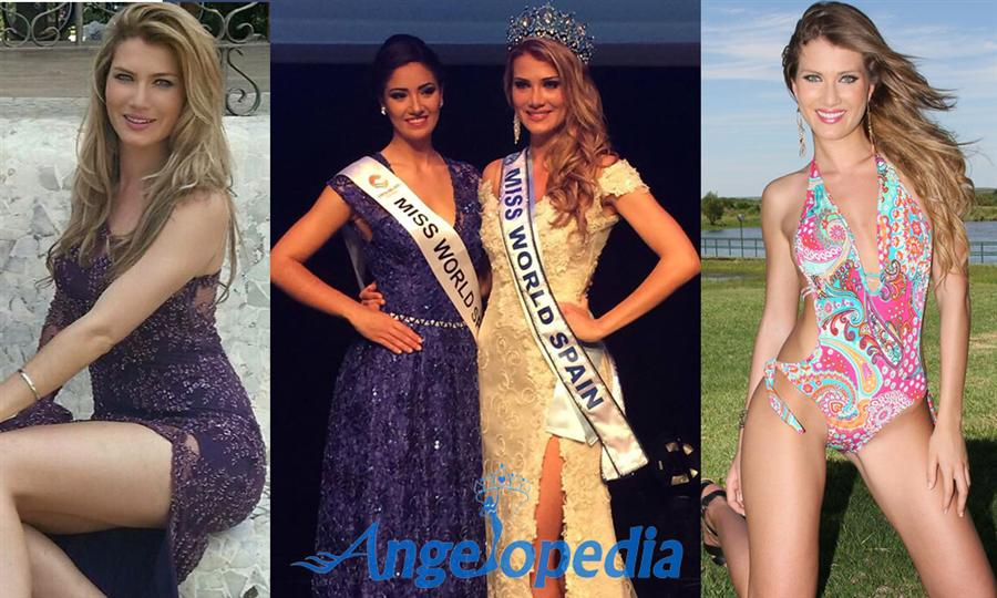 Mireia Lalaguna from Barcelona has been crowned Miss Mundo España 2015