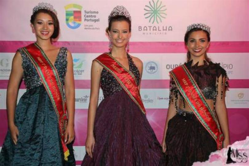 Cristiana Viana crowned as Miss Portuguesa 2016