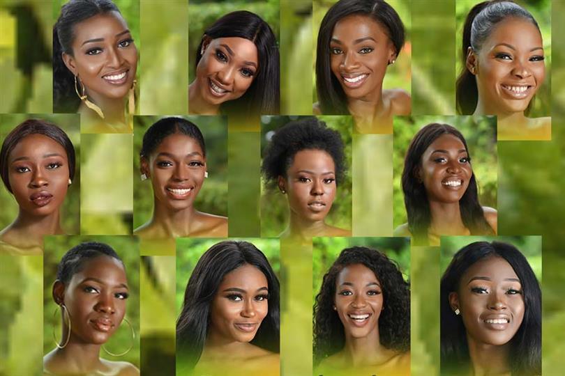 Miss Nigeria 2019 Meet the Contestants