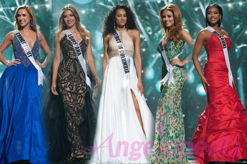 Evening Gowns that stood out at Miss USA 2017 Finale night