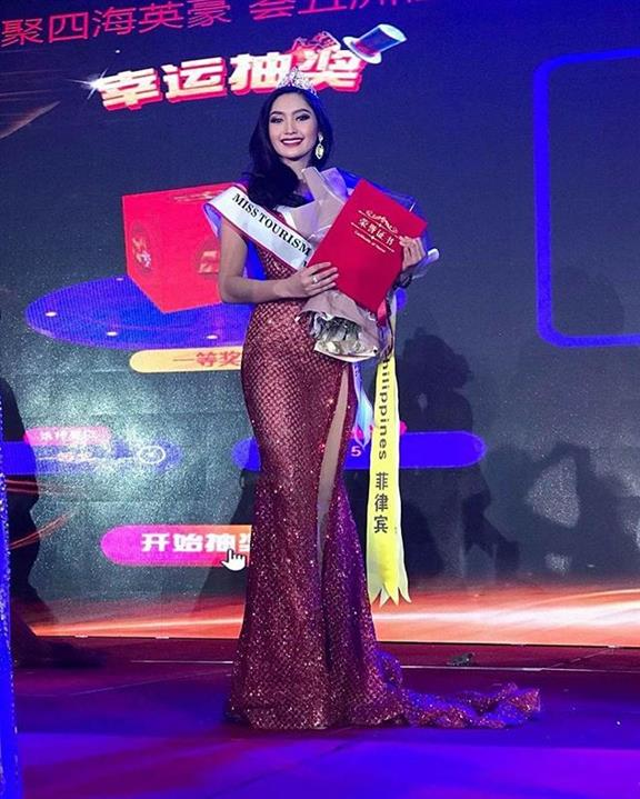 Francesca Taruc from Philippines crowned Miss Tourism World Intercontinental 2019