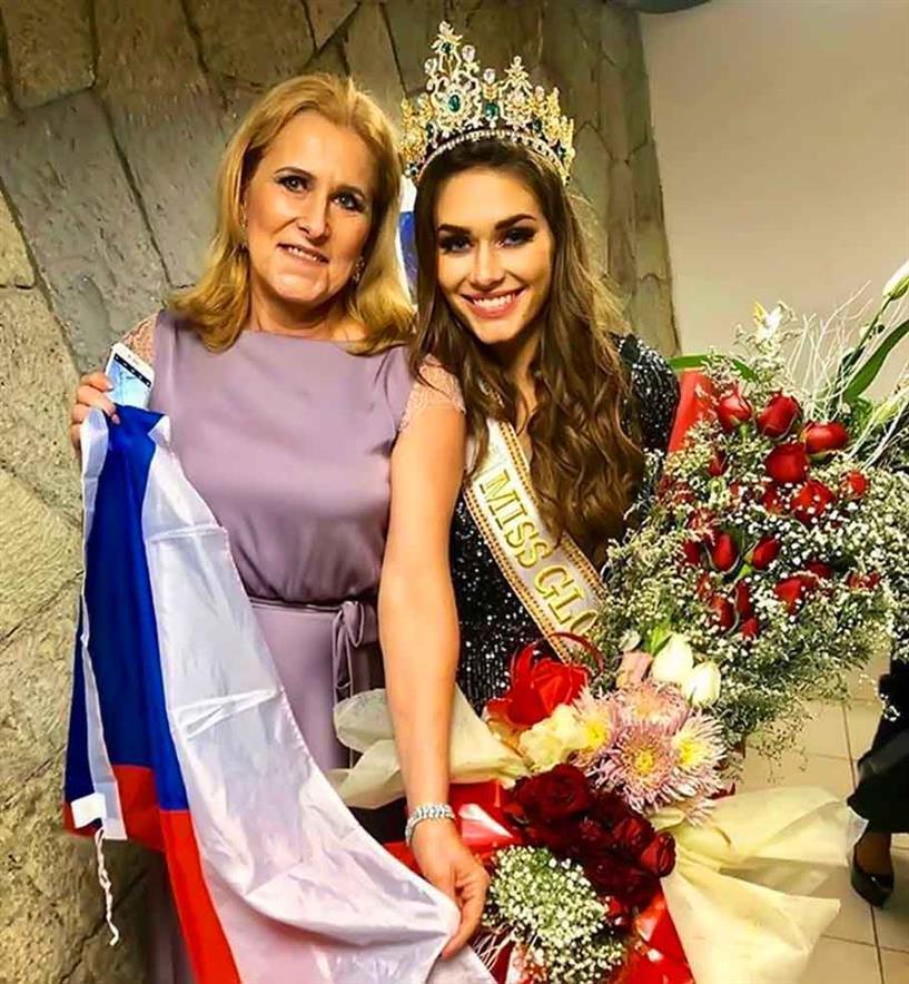 Karolína Kokešová Miss Global 2019 winner