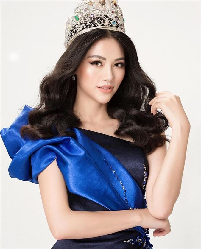 Reigning Miss Earth Queen Phuong Khánh Nguy?n turns 24 today!