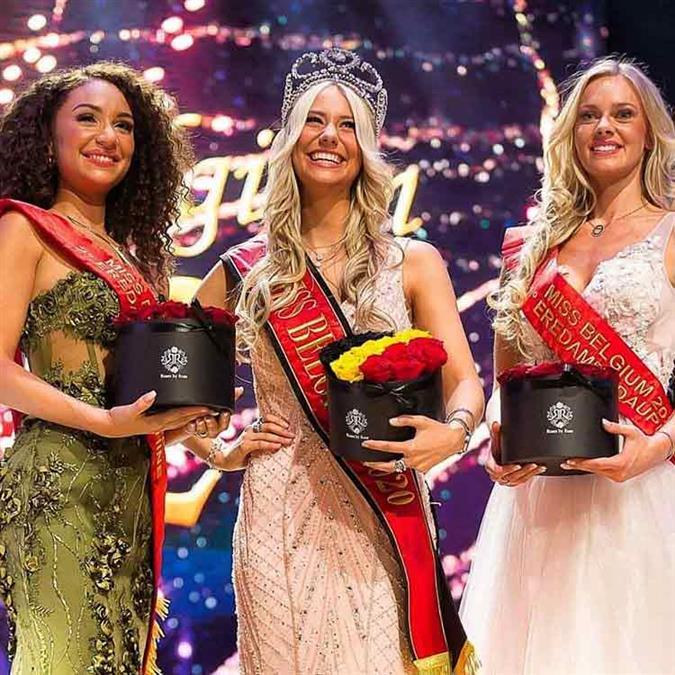 Miss Belgium 2020 winner Celine Van Ouytsel