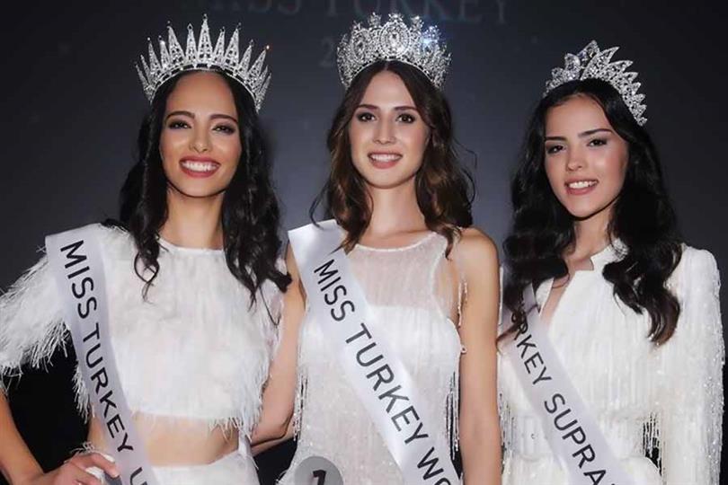 Bilgi Nur Aydogmus crowned Miss Universe Turkey 2019