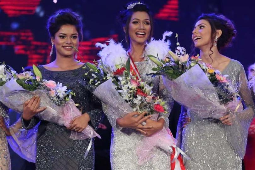 Shirin Akter Shela, Alisha Islam, Jessia Islam Miss Universe Bangladesh 2019 winners