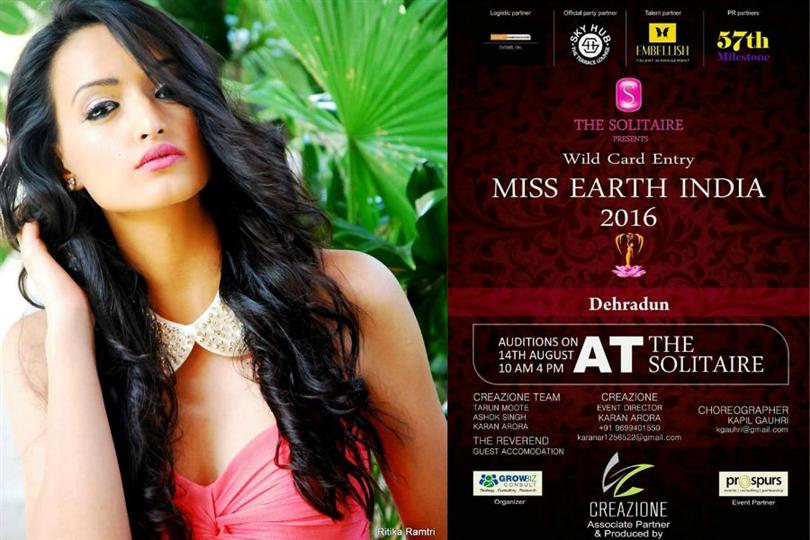 Miss Earth India 2016 Wild Card Auditions