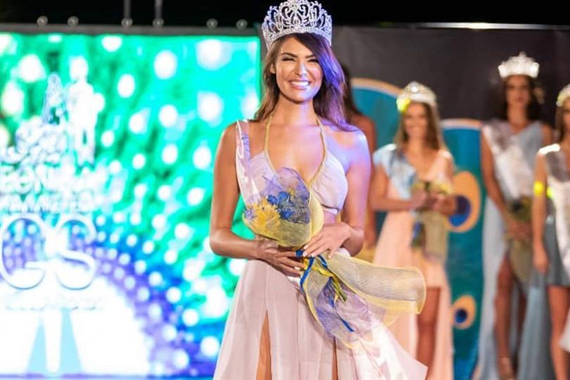 Vrisiida Andriotou to represent Greece at The Miss Globe 2021