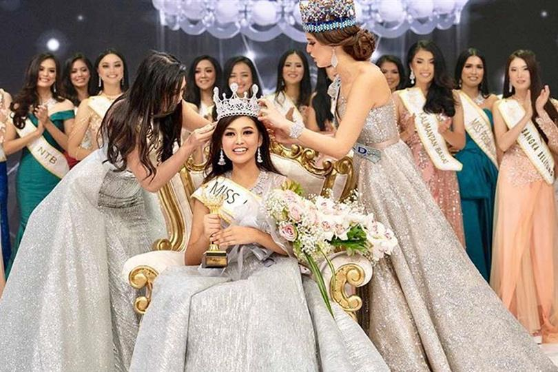 Princess Megonondo Crowned Miss Indonesia 2019 for Miss World 2019