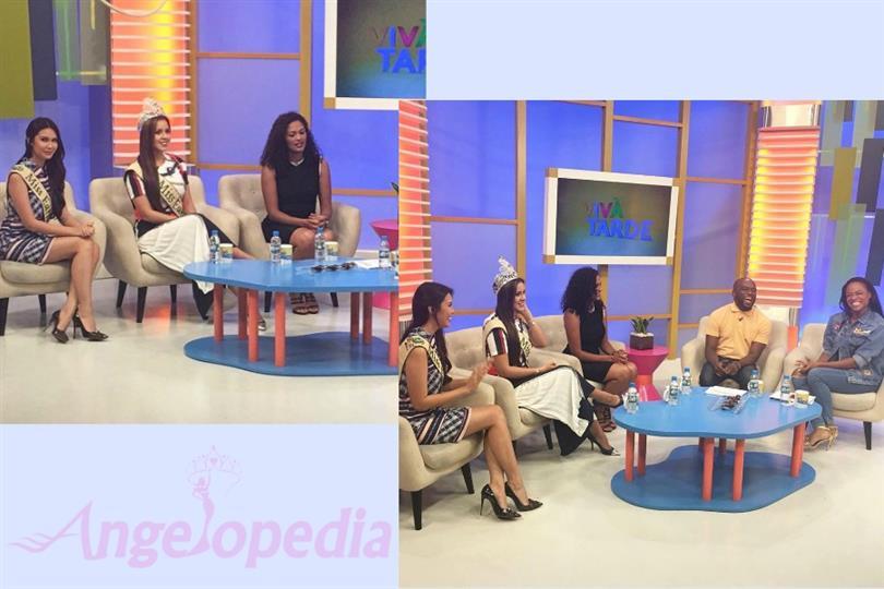 Katherine Espin and Angelia Ong on ZAP Viva TV station, Angola