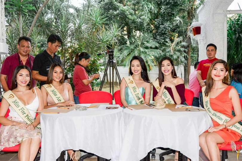 Stunning Filipina pageant veterans grace Miss Earth Philippines 2020 screening