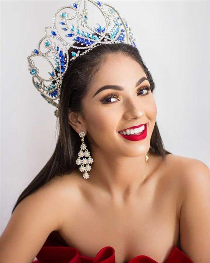 María Teresa Cortéz Miss Mundo Nicaragua 2019