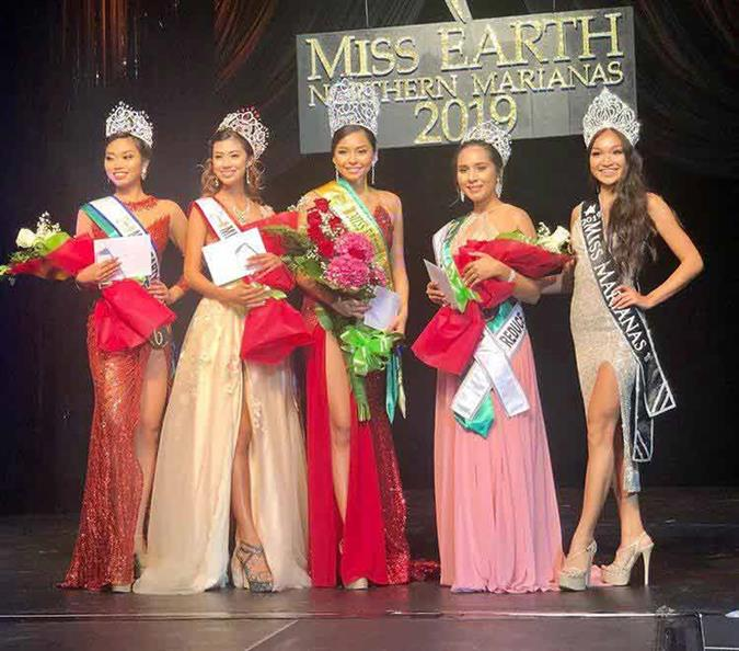 Leisha Deleon Guerrero crowned Miss Earth Northern Marianas 2019