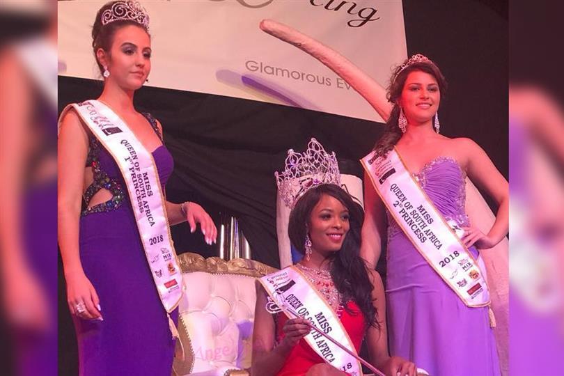Miss International South Africa 2018 is Reabetswe Rambi Sechoaro