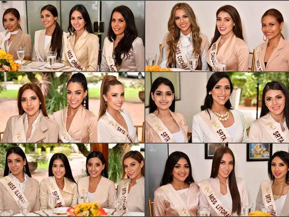 Miss Bolivia 2019 Meet the Contestants
