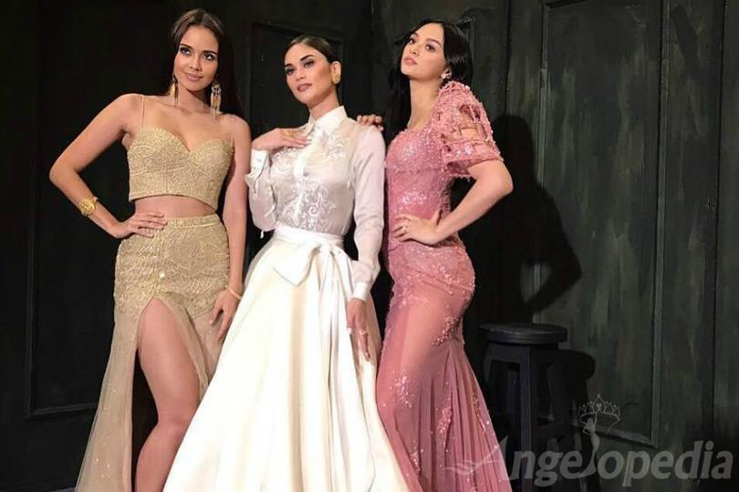 Megan, Pia and Kylie attend the Mega Millennial Ball