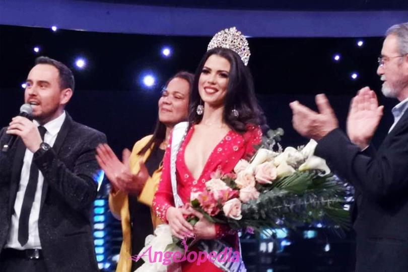 Andrea Díaz crowned Miss Universe Chile 2018