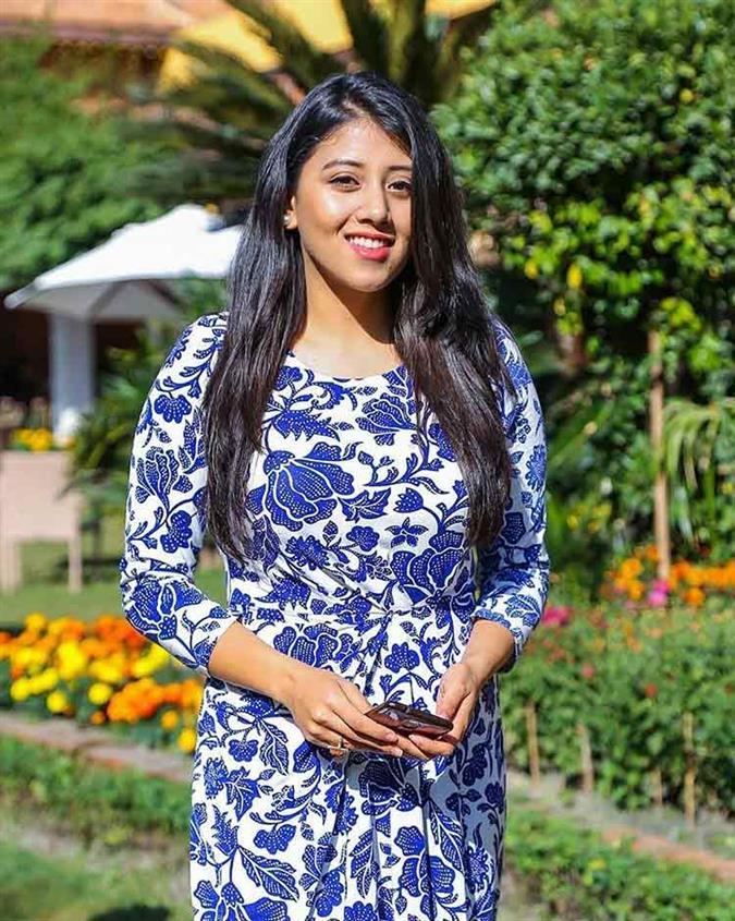 Sahara Basnet for Miss Universe Nepal 2020 crown?
