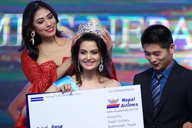 Manita Devkota crowned Miss Universe Nepal 2018