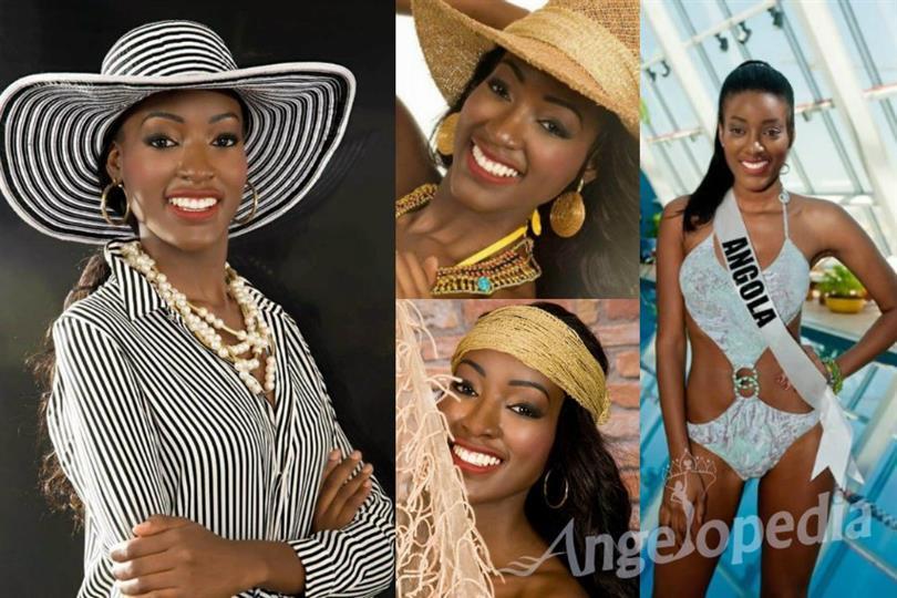 Angola's beauty Luisa Baptista wants the Miss Universe 2016 title