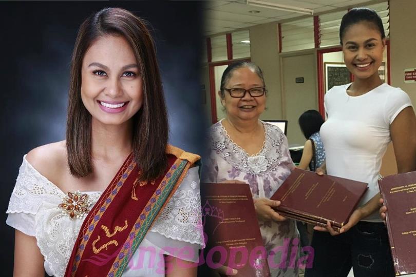 Venus Raj earns her Master's Degree in Community Development