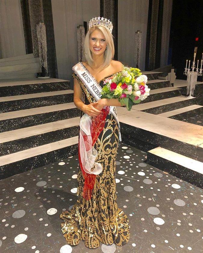 Lex Najarian crowned Miss Nebraska USA 2019 for Miss USA 2019
