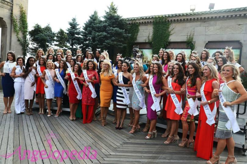 Miss America 2018 finalists receives hearty welcome in Atlantic City