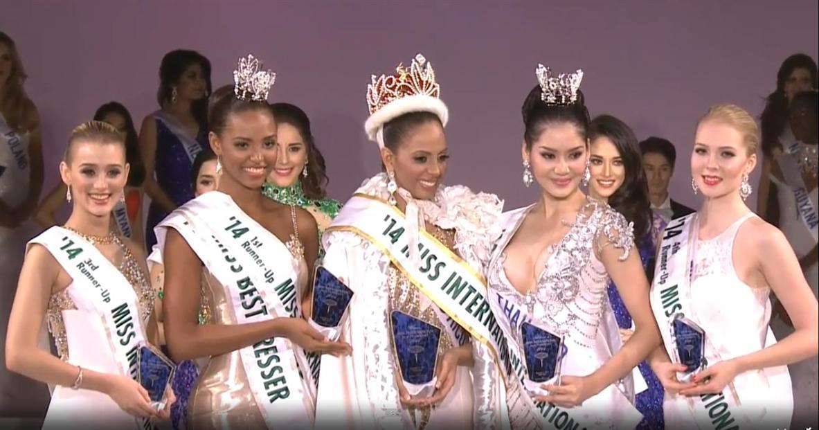 Top 5 Miss International 2014