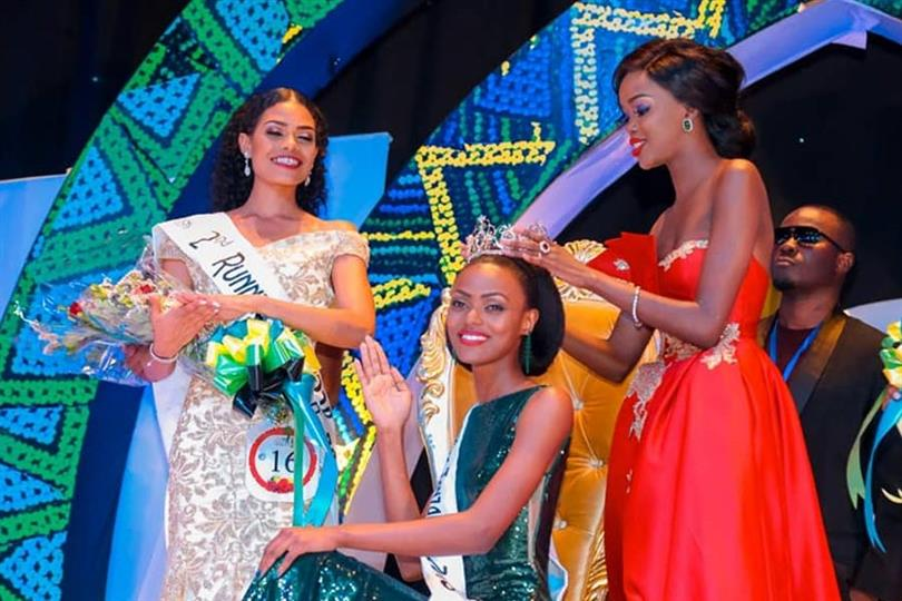 Queen Elizabeth Makune crowned Miss World Tanzania 2018