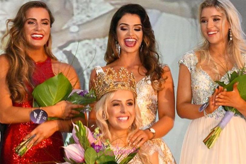 Katharine Walker crowned Miss World Northern Ireland 2018