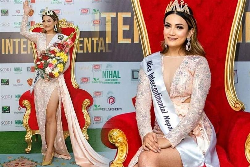 Nisha Pathak crowned Miss Intercontinental Nepal 2020