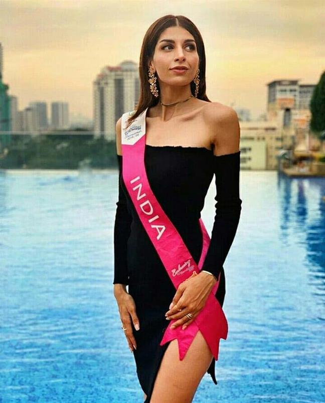 Indian beauty Rhythm Randhawa's stellar performance in Miss Tourism International 2019