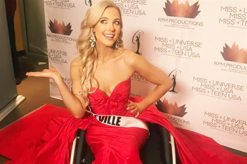 Madeline Elizabeth Delp becomes the first woman in wheelchair to compete in Miss North Carolina USA