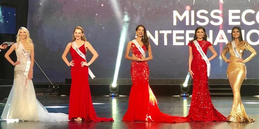 Miss Eco International 2019 Top 5 Question and Answer Round