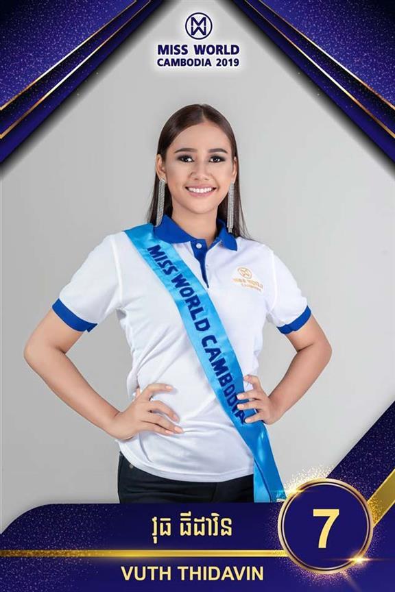 Miss World Cambodia 2019 Top 5 Hot Picks