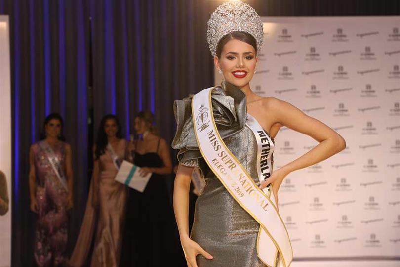 Netherlands' Nathalie Yasmin Mogbelzada wins Miss Elegance for Miss Supranational 2019