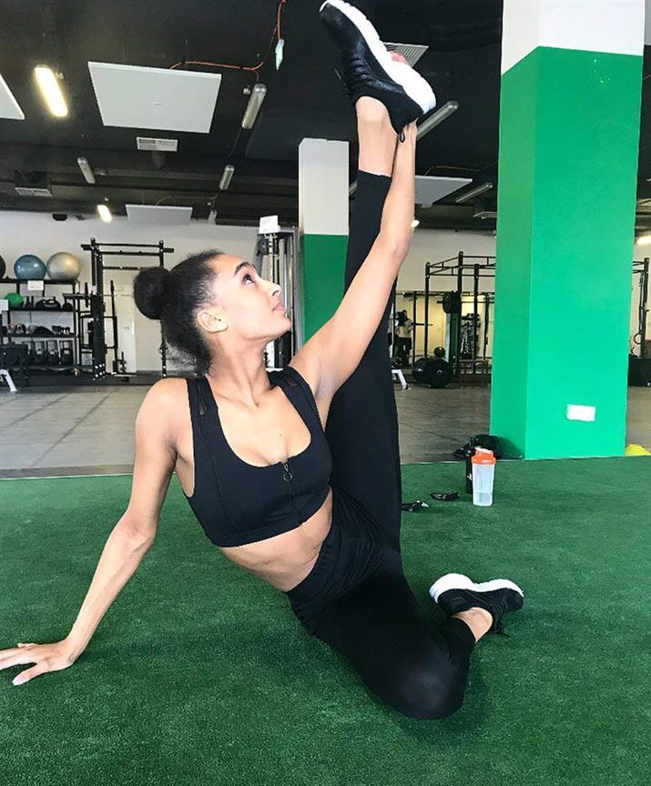 Miss Slovensko 2018 finalist Jasmina Tatyova's fitness addiction